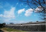 片田4月の晴天