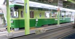 甘木鉄道20160612帰りの列車